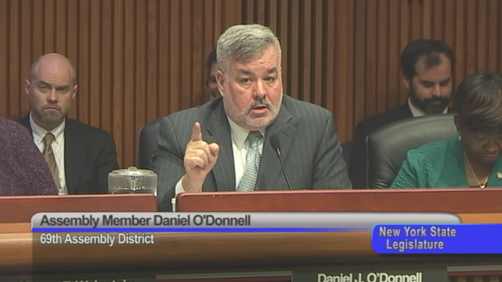 Assembly Member O'Donnell Discusses Bail Statute