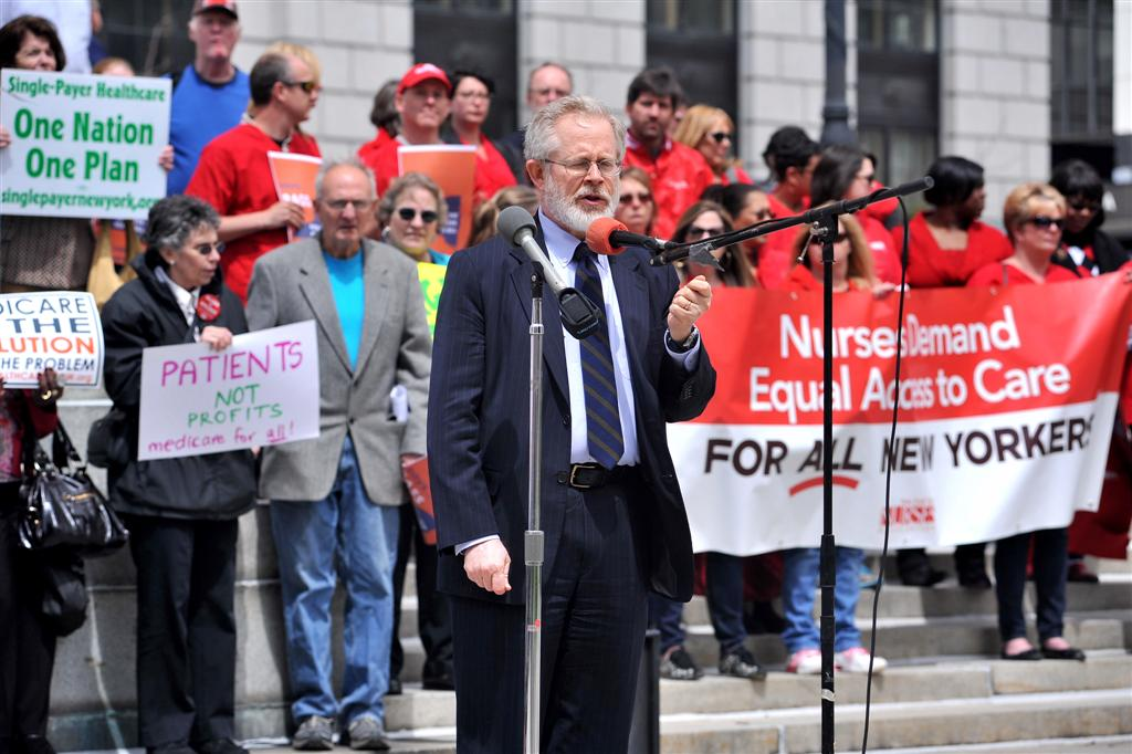 Single Payer Rally in Albany
