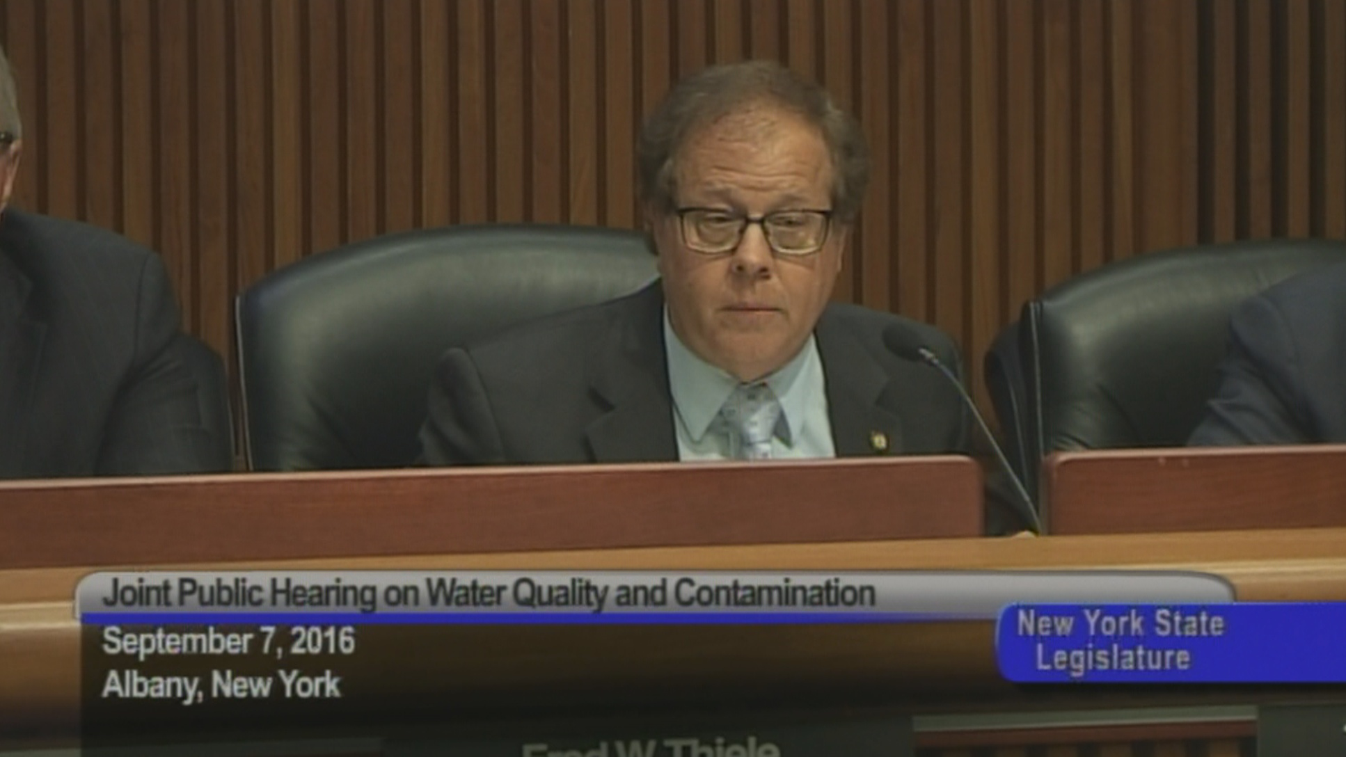 Joint Public Hearing on Water Quality and Contamination