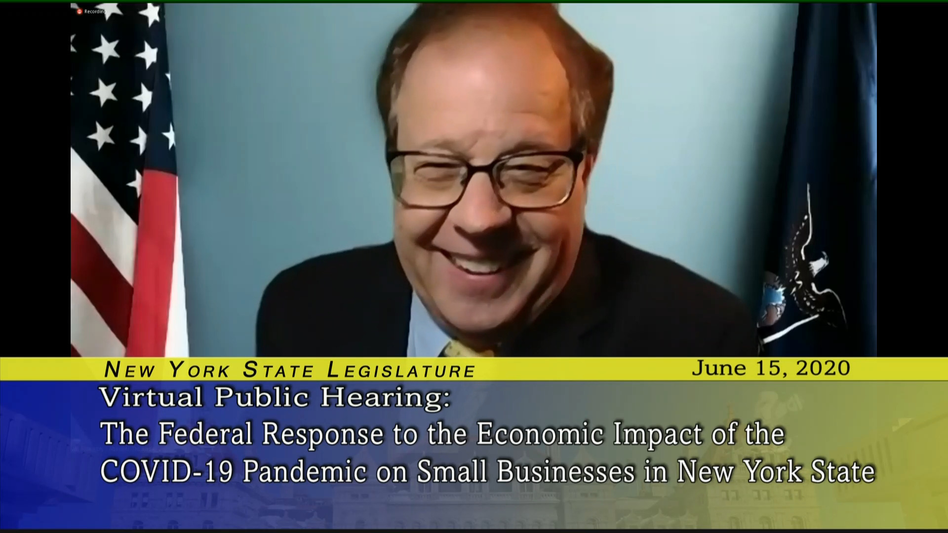 Public Hearing on Federal Response to COVID-19 Impact on Small Business